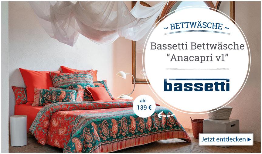 Bassetti Bettwäsche Bettbezüge Seffanide