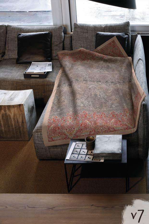 michelle v7 bassetti plaid michelle v7. Black Bedroom Furniture Sets. Home Design Ideas