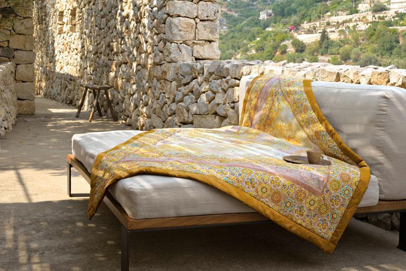 sciacca bassetti plaid. Black Bedroom Furniture Sets. Home Design Ideas