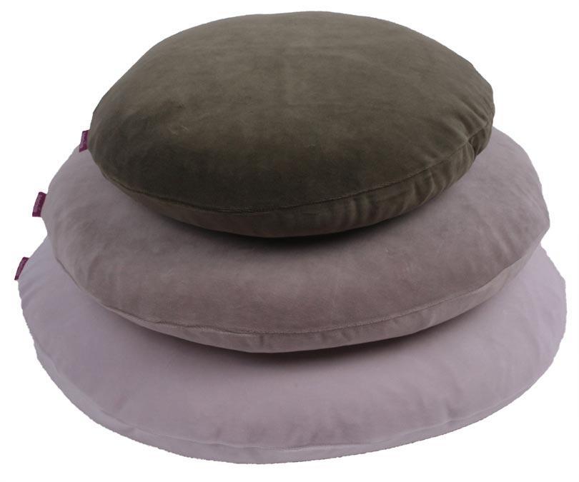 farbenfreunde kissenh llen rund 60cm aus nicky. Black Bedroom Furniture Sets. Home Design Ideas