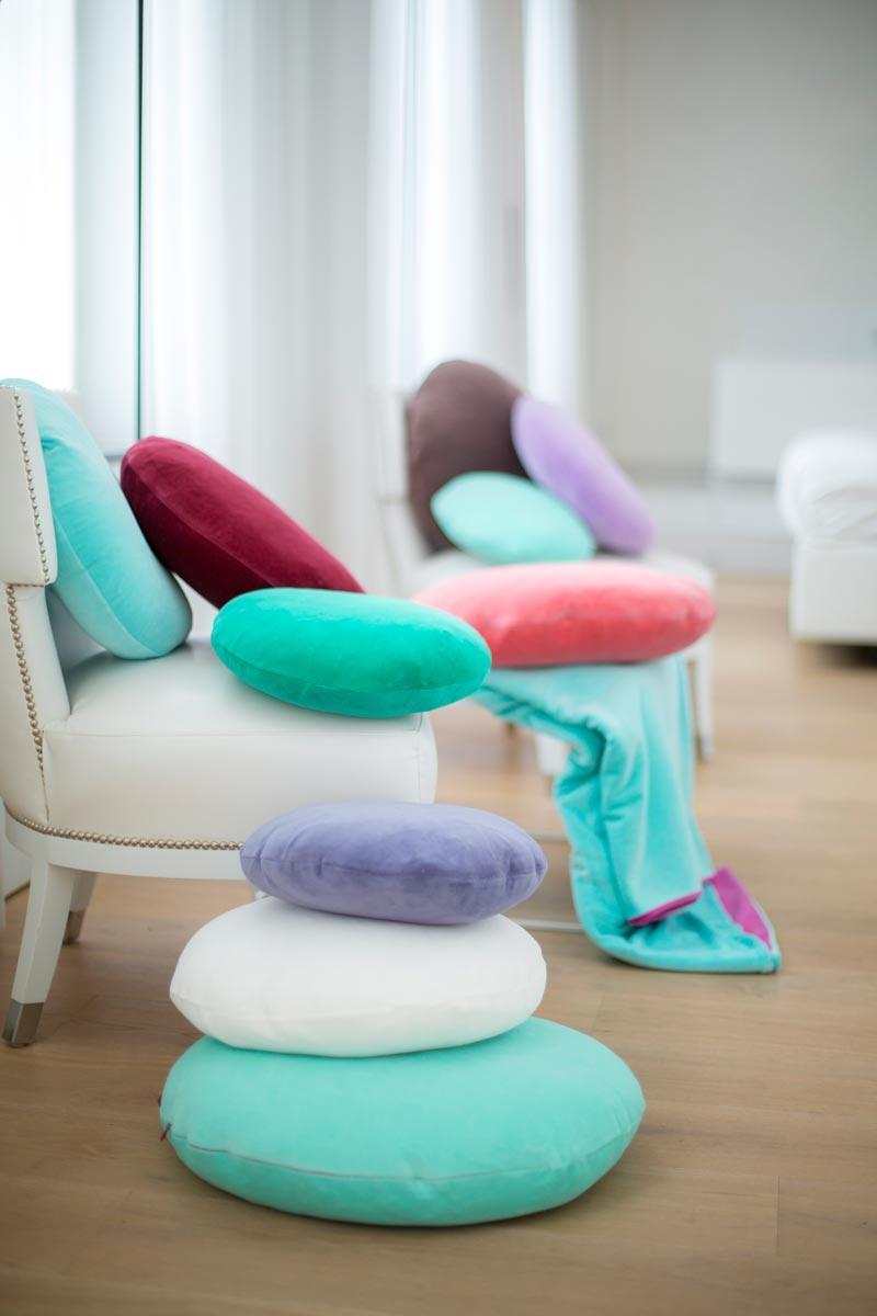 farbenfreunde kissenh llen rund 50cm aus nicky. Black Bedroom Furniture Sets. Home Design Ideas