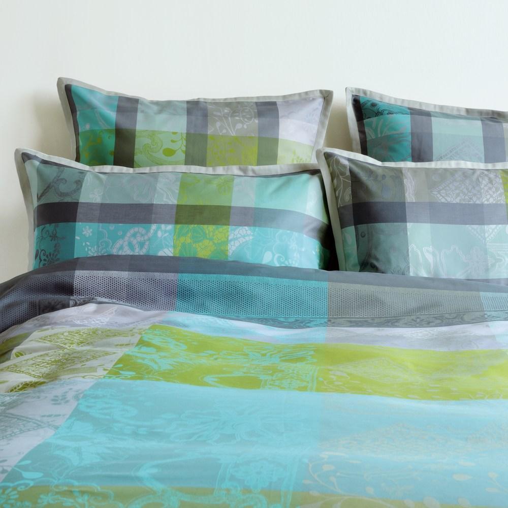 aurore turquoise garnier thiebaut bettw sche einfach wohlf hlen. Black Bedroom Furniture Sets. Home Design Ideas