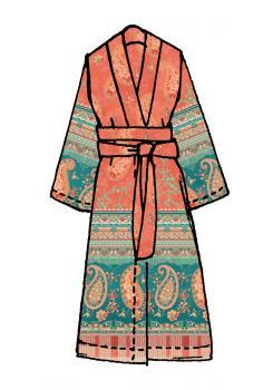 Anacapri Bassetti Kimono v1