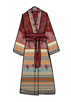 Ravenna Bassetti Kimono R1