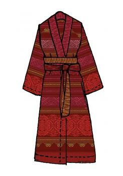 Urbino Bassetti Kimono r1