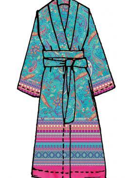 Burano Bassetti Kimono s1 - Details
