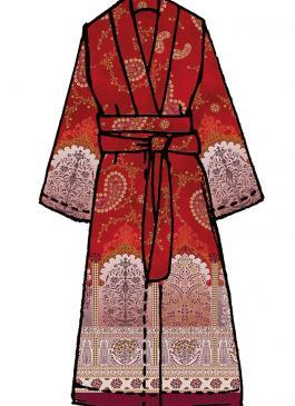 Jaipur Bassetti Kimono v1