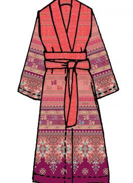 Maiori Bassetti Kimono v1 - Details