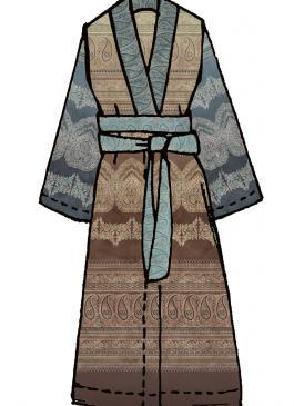 Brunelleschi Bassetti Kimono m1