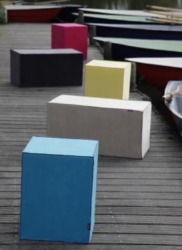 Sitzwürfel Farbenfreunde