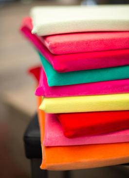 Farbenfreunde Stuhlkissen