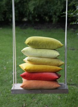 Farbenfreunde Kissenhülle - 40x40cm