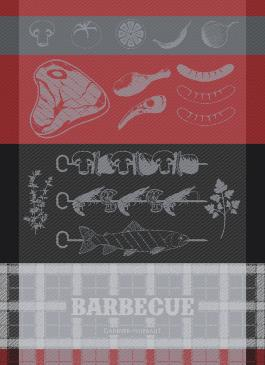 Barbecue Charcoal - Garnier Thiebaut Geschirrtuch