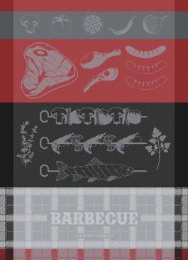 Barbecue Charcoal - Garnier Thiebaut Geschirrtuch