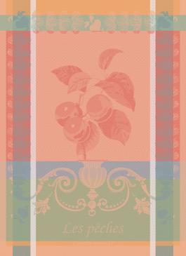 Geschirrtuch Garnier Thiebaut Peches blush
